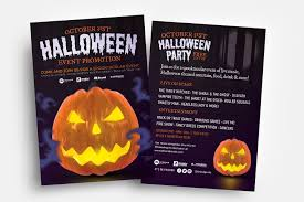 Halloween Flyers Templates Free Halloween Flyer Template Psd Ai Vector Brandpacks