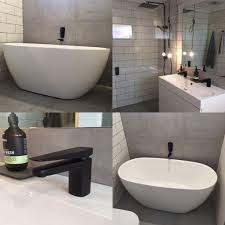 Reece Bathroom Mirrors Mondella Matte Black Tapware Wall Spout And Wall Mixers Meir
