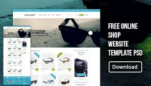 Free Online Template Free Online Shop Website Template Psd Css Author
