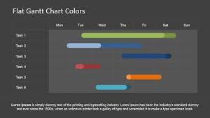 Gantt Chart Colors Editable Gantt Chart For Powerpoint