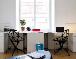 Desk Design Ideas, Office Ufrniture Double Desks Modern Minimalist Cool  Interior Home Design Metal Steel