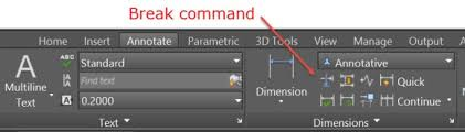 autocad dimension text size autocad breaking overlapping dimensions lines new england