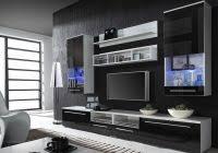 Beautiful ... Tv Wall Unit Blueprints Black Wall Units For Living Room  ...