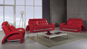 Red Living Room Chairs Latest Living Room Furniture Wool Carpet Grey Leather Sofa Cushion