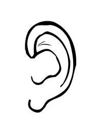 Small Picture Drawing Ear Colouring Page Colouring Tube