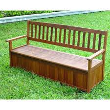 outdoor wood bench with storage outdoor bench seat with storage waterproof wooden garden storage bench