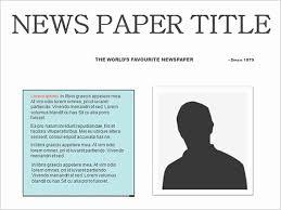 Newspaper Template For Docs Google Docs Newspaper Template Locksmithcovington Template