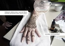 Henna Workshop S Ištabelou 6 Apr 2019