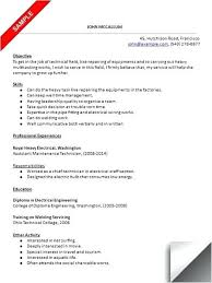 aircraft maintenance technician resume maintenance resume sample lifespanlearn info