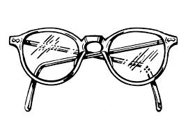 Kleurplaat Bril Afb 19068 Images