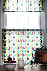 Kitchen Curtain Patterns Impressive Kitchen Curtain Patterns Wisatabagus