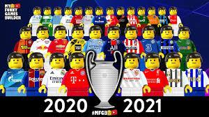 Champions League 2020/21 • Group Stage Draw Season 2021 Preview in Lego  Football Film | Lego football, Champions league, Olympique de marseille