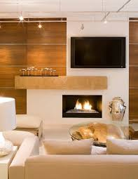 Homely Ideas Fireplace And Tv Plain Decoration Television HDTV