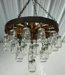 country wagon wheel chandelier 2