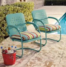 retro metal outdoor furniture. Fine Furniture Awesome And Beautiful Retro Metal Lawn Chairs Impressive Patio Furniture  Outdoor Idea To A