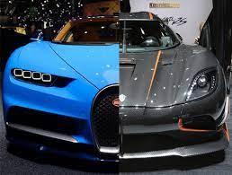 2016 koenigsegg regera vs 2011 bugatti veyron super sport in a drag race on forza horizon 3. Koenigsegg Agera Rs Vs Bugatti Chiron Battle Of Blazing Speed