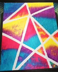Canvas Painting Ideas For Kids Best Tape On