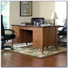 desks sauder office port executive desk images desks in dark alder 240