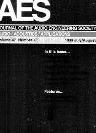 aes e library complete journal volume 47 issue 7 8 Peavey Classic Schematic at Peavey 1820 Wiring Diagram