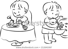 washing hands clip art black and white. Simple Hands Mealtime And Wash Hand In Washing Hands Clip Art Black And White A