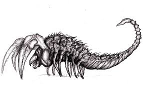 monster creature drawings. Fine Monster Scorpion Monster Stephen King Mist Creature 05 By KingOvRats  And Monster Drawings
