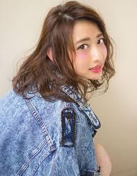 髪型ニュアンスパーマでオシャレに ヘアカタログ銀座の美容室