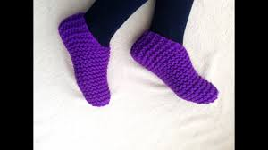 Tutorial On How To Loom Knit Toe Up Slippers