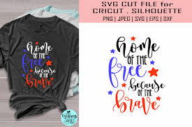 Armor of god ephesians 6:10 free svg file. Home Of The Free 4th Of July Graphic By Midmagart Creative Fabrica