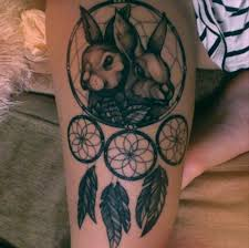 Dream Catcher Tattoo On Thigh 100 Dreamcatcher Tattoos For Women Amazing Tattoo Ideas 51