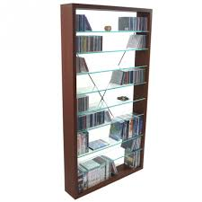 31 Cd And Dvd Storage Cabinet With Doors Oak Finish, Rustic Oak CD ...