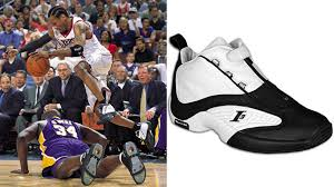 reebok basketball shoes allen iverson. today in performance sneaker history: allen iverson wins 2000-01 mvp the reebok answer iv | complex basketball shoes