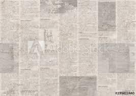Newsprint Texture Background Newspaper With Old Grunge Vintage Unreadable Paper Texture