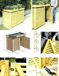 outside trash cans outside trash storage best garbage can storage ideas on garbage trash can storage