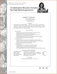 Cover Letter Resume Sample For Work Resume Sample For Works Well ...