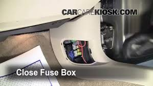 interior fuse box location 2006 2016 chevrolet impala 2008 secure the cover and test component