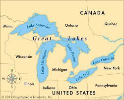 great lakes maps of and printable us map with  all world maps
