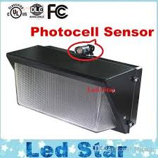 2019 photocell sensor led wall pack light 60w 80w 100w 120w
