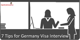 Interview Tips 7 Tips For Germany Visa Interview Visa Interview Tips