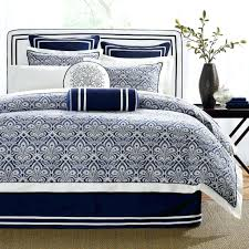 navy blue and white striped bedding comforter set bedspread stripe twin