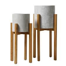 amazing home republic wooden stands oak homewares pots plants wooden plant stands ideas