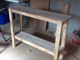 New Ideas Diy Sofa Table With Turtles And Tails DIY Sofa Table