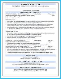 Post Op Nurse Resume Sample Rsvpaint How To Write Nursing Cv For