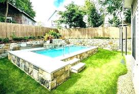Backyard Pool Designs For Small Yards Best Modern Pool Designs For Small Yards Saclitagators