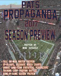Up To Date Depth Charts Patspropaganda 2017 Season Preview Book Patspropaganda