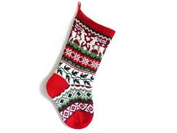 Patterns For Christmas Stockings Interesting Decorating Ideas