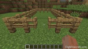 How to OpenClose a Fence Gate in Minecraft