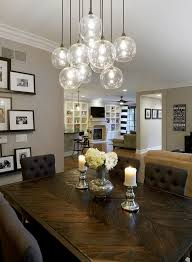 room light fixture interior design: dining rooms tablescape dining table table setting accents accessories industrial chandelier