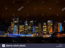 Skyline Festival Of Lights Discount Circular Quay With Sydneys Skyline Illuminated At Night By