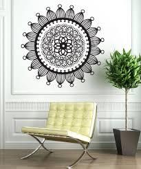 Henna Wall Designs Vinyl Wall Decal Sticker Radial Henna Os_dc707 Vinyl Wall