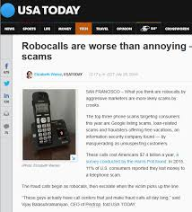 Google Phone Listing Fake Google Robocall Scams Dont Fall For This Phone Scam